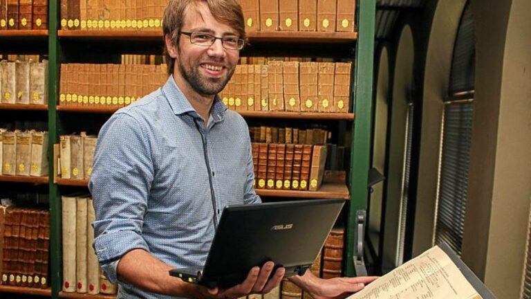 Timo Steyer, Convenor der AG Digitales Publizieren. #DigitalHumanities #WissKomm #Podcast