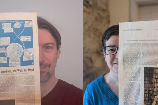 RaDiHum20 spricht mit der AG Zeitungen und Zeitschriften