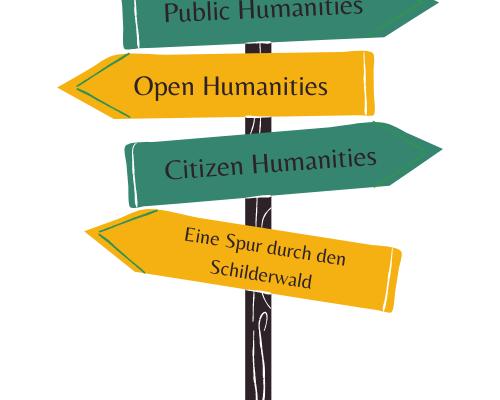 vDHd2021 bei RaDiHum20: Public Humanities, Open Humanities, Citizen Humanities: Eine Spur durch den Schilderwald